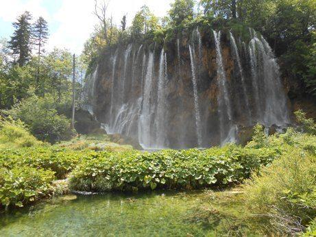 plitvice lakes national park waterfall croatia