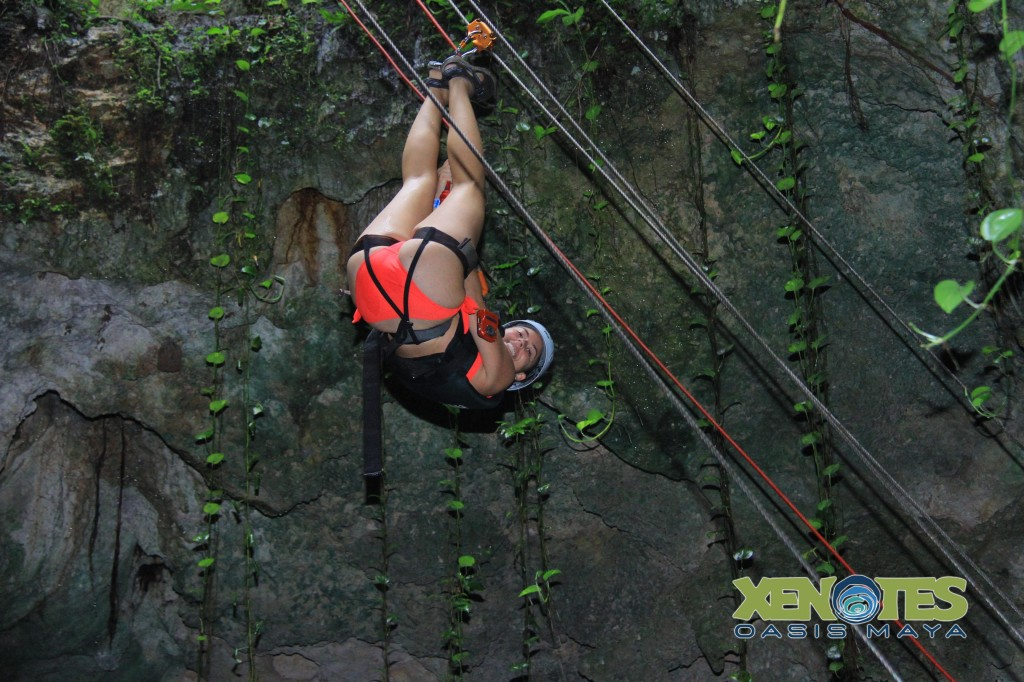 rappeling xenotes