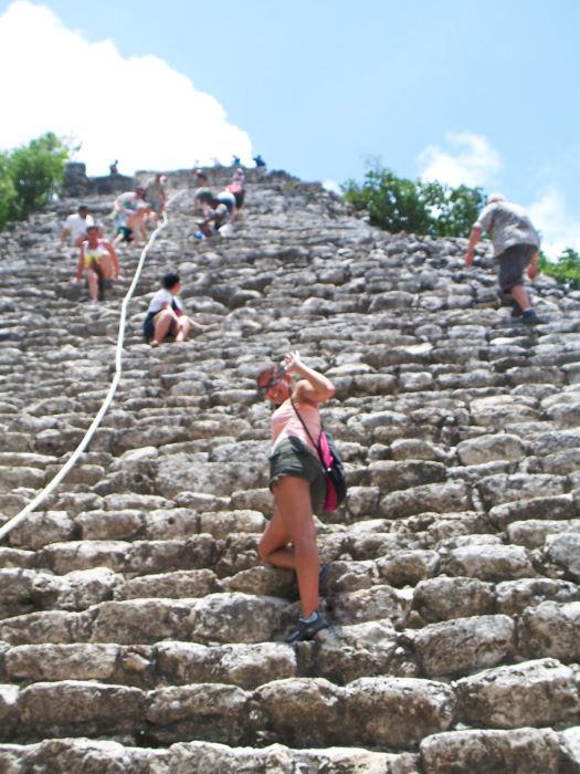 coba pyramids