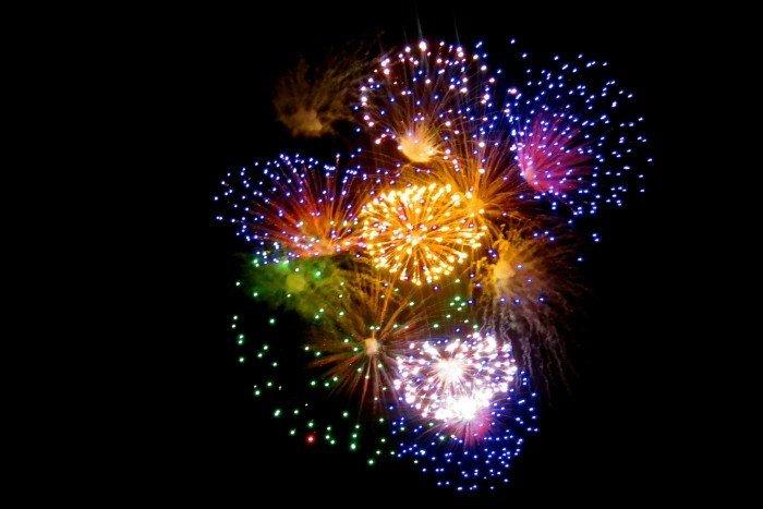 fireworks el grito isla mujeres
