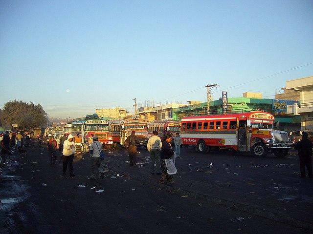 xela bus terminal