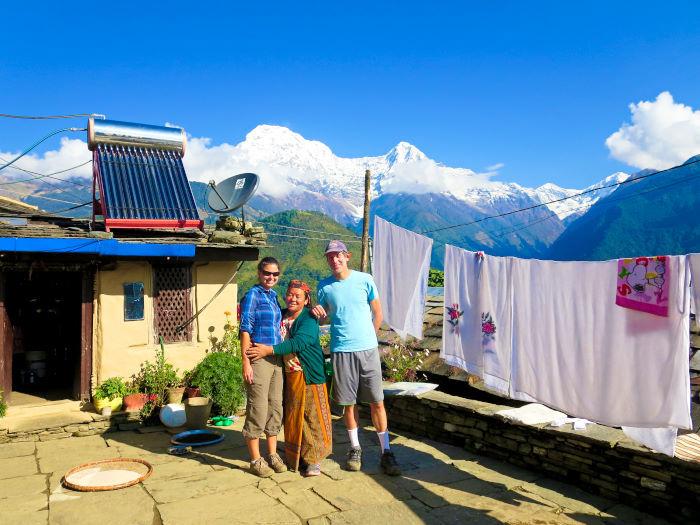 Village life in Nepal