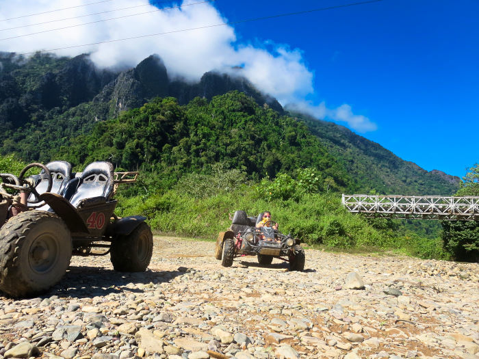 dune buggy vang vieng laos