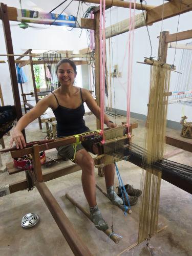 Loom Weaving Vientiane