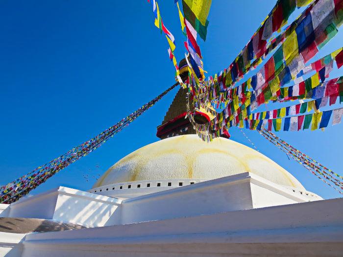 Bodhanath Stupa in Kathmandu