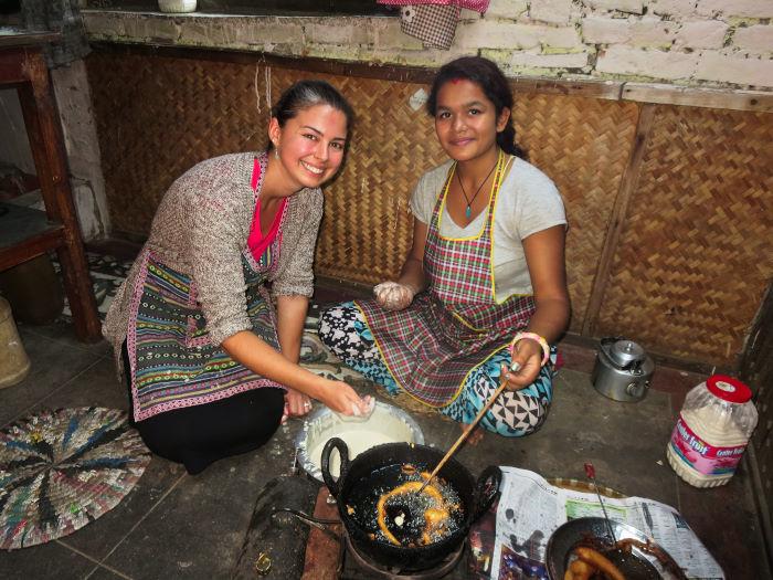 Nepali Cooking Course Kathmandu Nepal