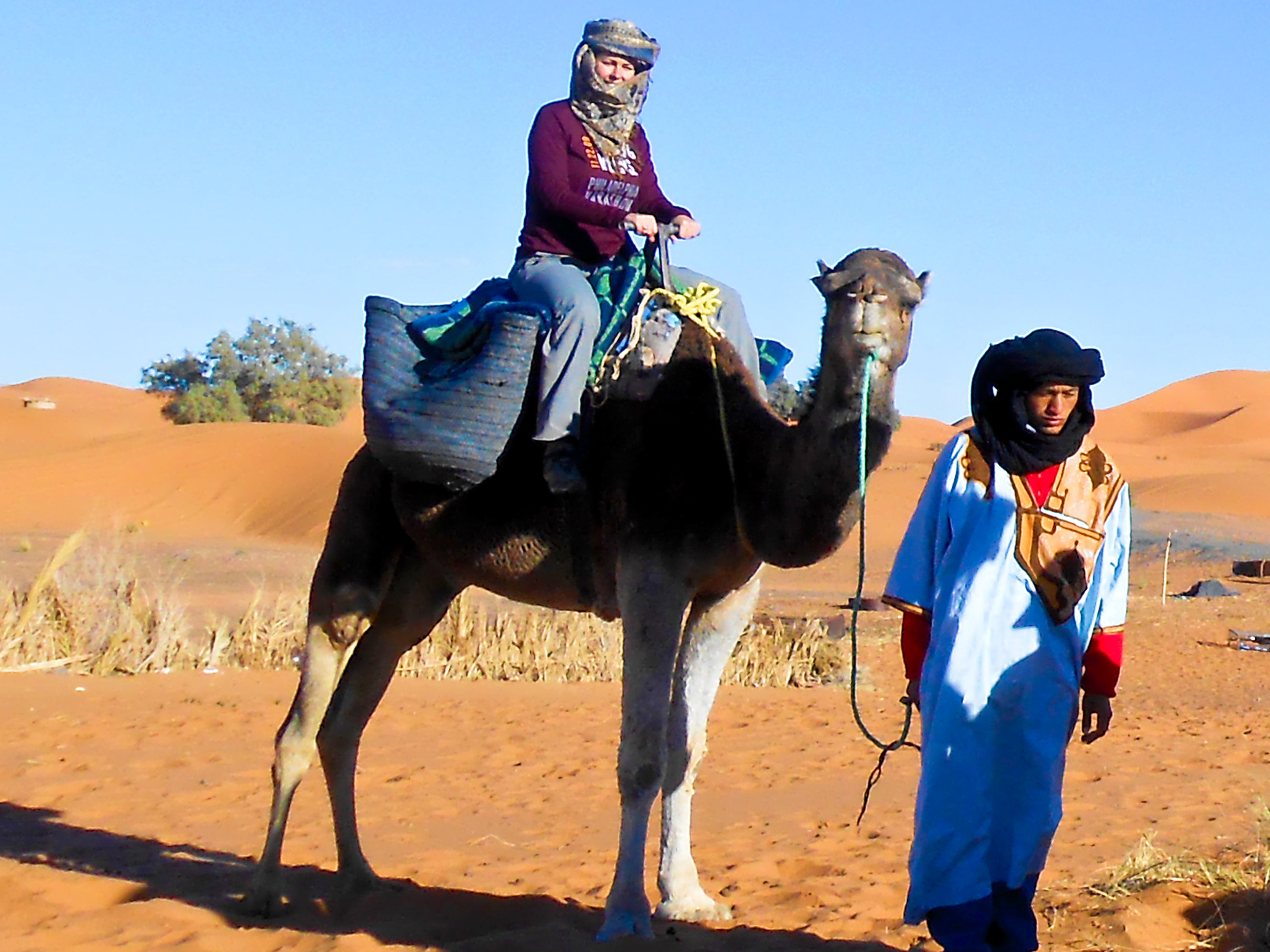 Camel Riding Morocco Desert