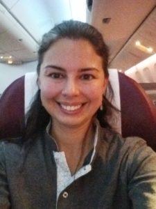 business class Qatar Airways 787