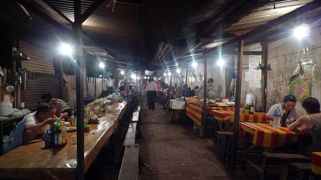 Luang Prabang night market laos travel guide