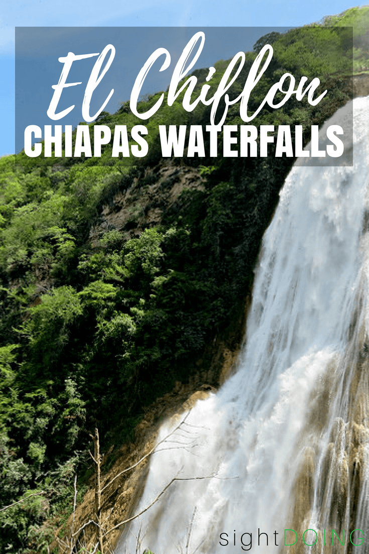 Get out of town from Comitan or San Cristobal de las Casas! A day trip to El Chiflon waterfalls is a gorgeous way to spend a day in Mexico. Hiking trails, picnic, swimming, and a zipline! Find out how to get there and how to plan your day.