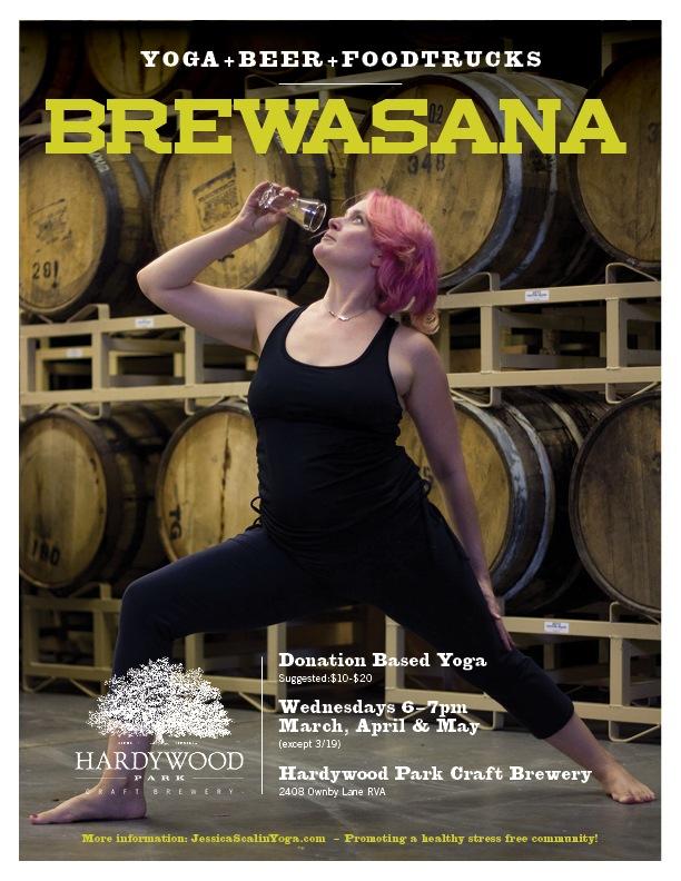 yoga hardywood brewery richmond va