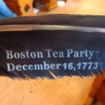 boston tea party museum feather