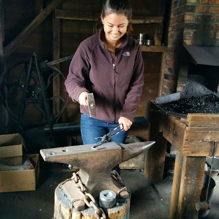 blacksmith workshop what to do in corning ny