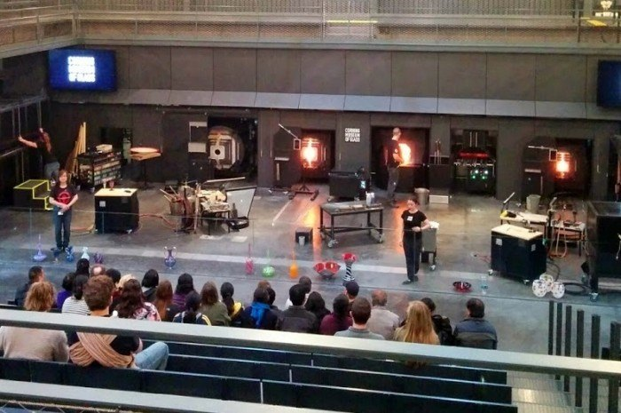 corning ny things to do like glassblowing demonstrations
