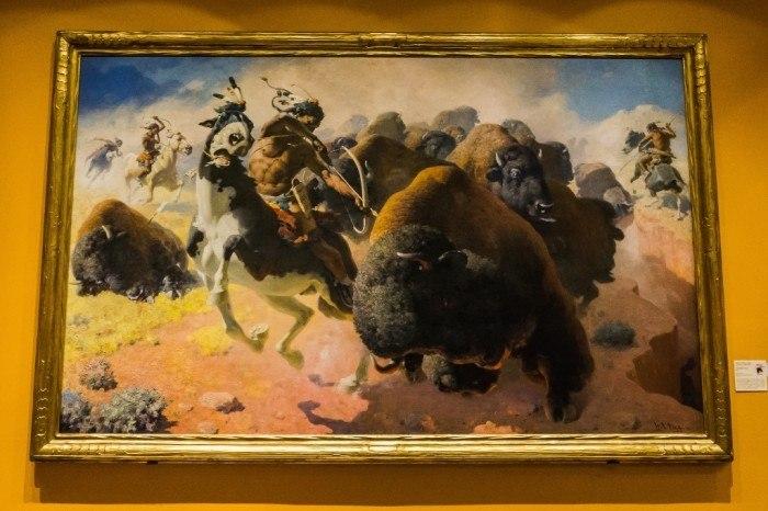 rockwell museum corning ny buffalo hunt