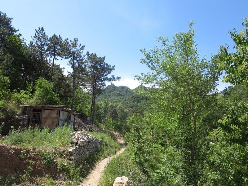 great wall of china hiking jiankou