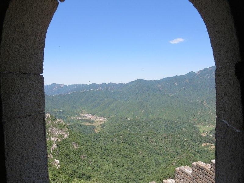 jiankou watchtower great wall of china