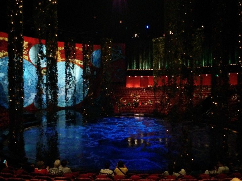 House of Dancing Water theatre at City of Dreams, Macau