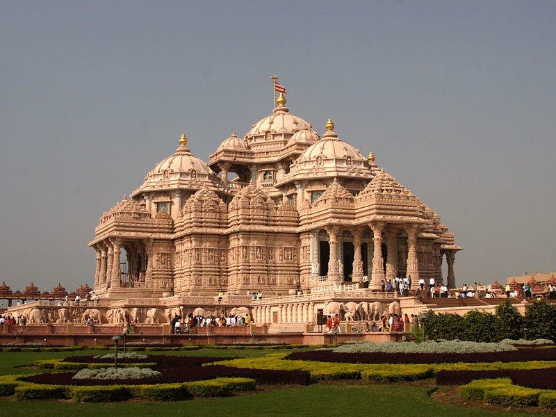 Photo by Swaminarayan Sanstha via Wikimedia Commons