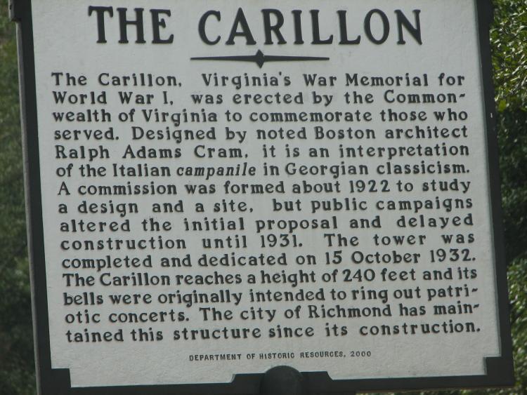 richmond carillon