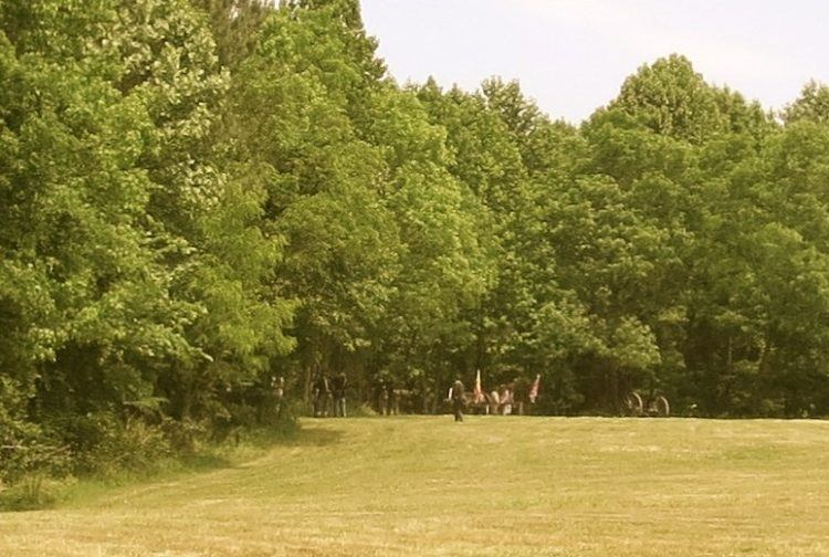 civil war battles fort pochahontas reenactment
