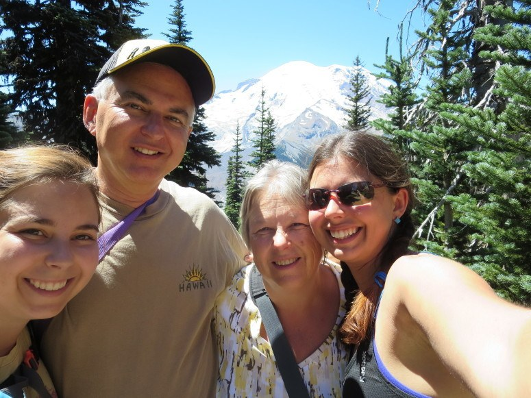 mount rainier family