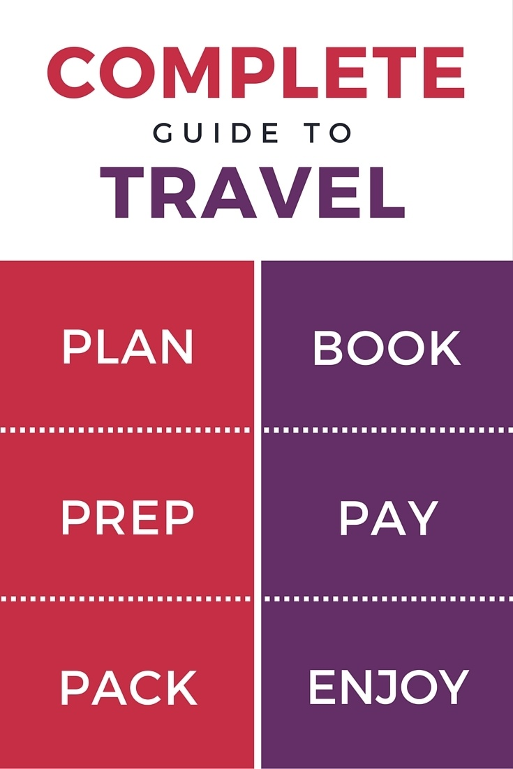 The Complete Travel Guide: How to Plan, Book, Prep, Pay, Pack, and Enjoy a Trip