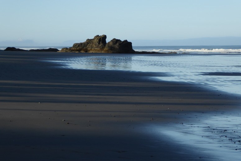 morning at olympic national park ruby beach