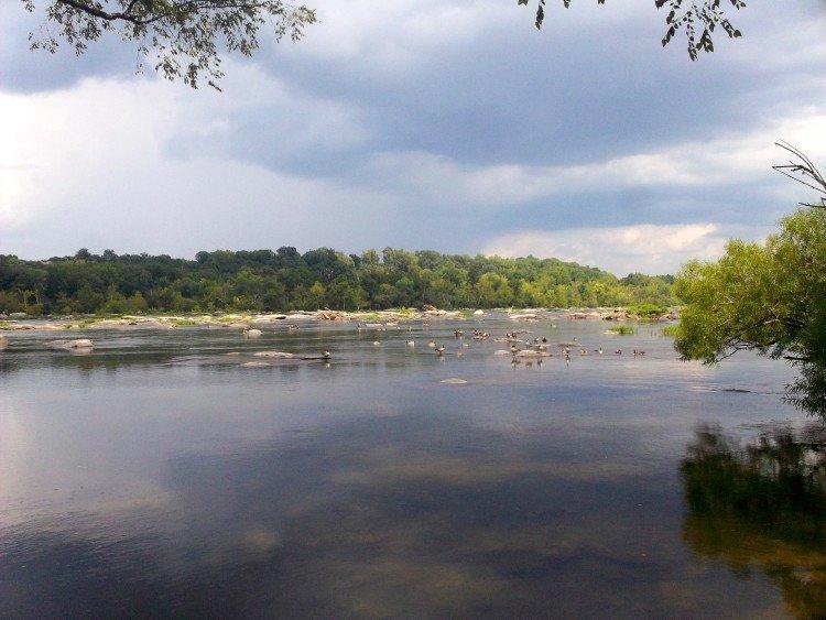 white water rafting richmond