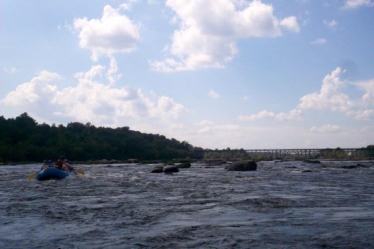 white water rafting james river reedy creek richmond