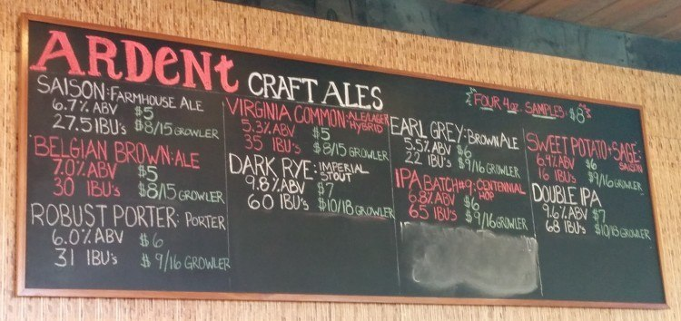 ardent craft ales things to do in richmond va