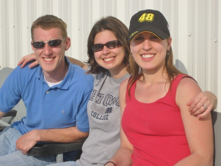At the spring NASCAR race in Richmond VA