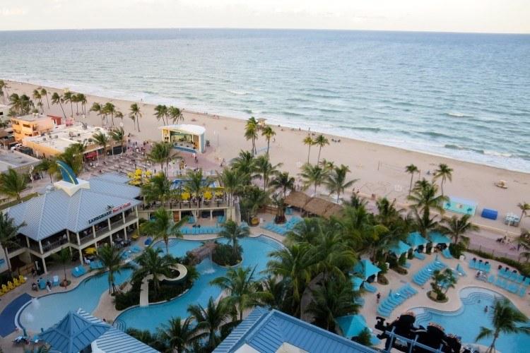 margaritaville beach resort hollywood beach fl pools