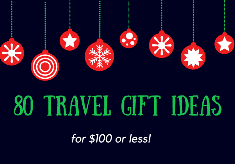 Travel gift ideas for christmas
