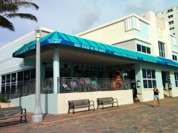 shopping hollywood beach florida