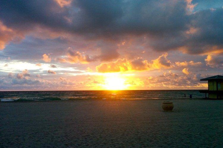 sunrise hollywood florida / hollywood fl / hollywood beach florida sunrise / hollywood beach fl