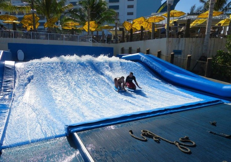 Flowrider margaritaville resort hollywood beach fl