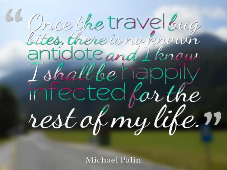 Michael Palin quote travel