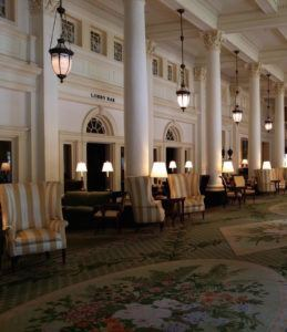 Omni Homestead Resort lobby