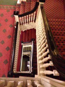 Omni The Homestead Resort Virginia staircase