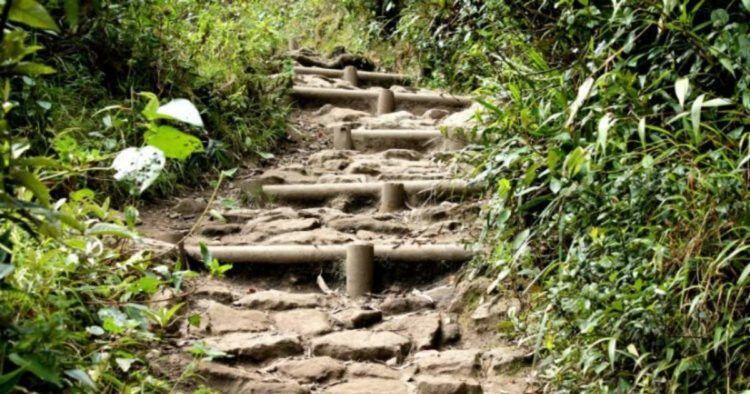 uphill hike in bogota