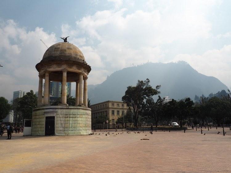 parque de los periodistas bogota colombia (is bogota safe?)