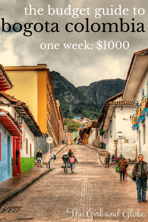 Bogota Colombia is a beautiful city with low costs. Find out what a trip costs and how one traveler visited for one week on $1000, including airfare.