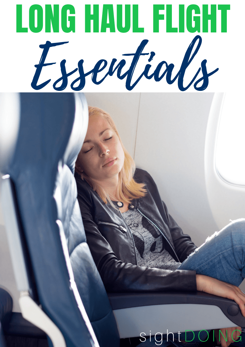 Have you ever flown overnight (or longer)? It SUCKS! Find out how to make it way more comfortable with these carry on packing tips and essentials for long flights.