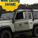 For a fun wine tasting in Paso Robles experience, try the Excursion Tour at Halter Ranch Vineyards. Go off-roading in a Land Rover and taste wines in California! #sightDOING
