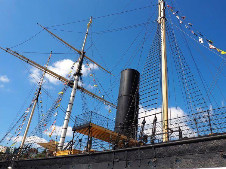 SS Great Britain (Bristol England) / things to do in bristol uk / bristol united kingdom