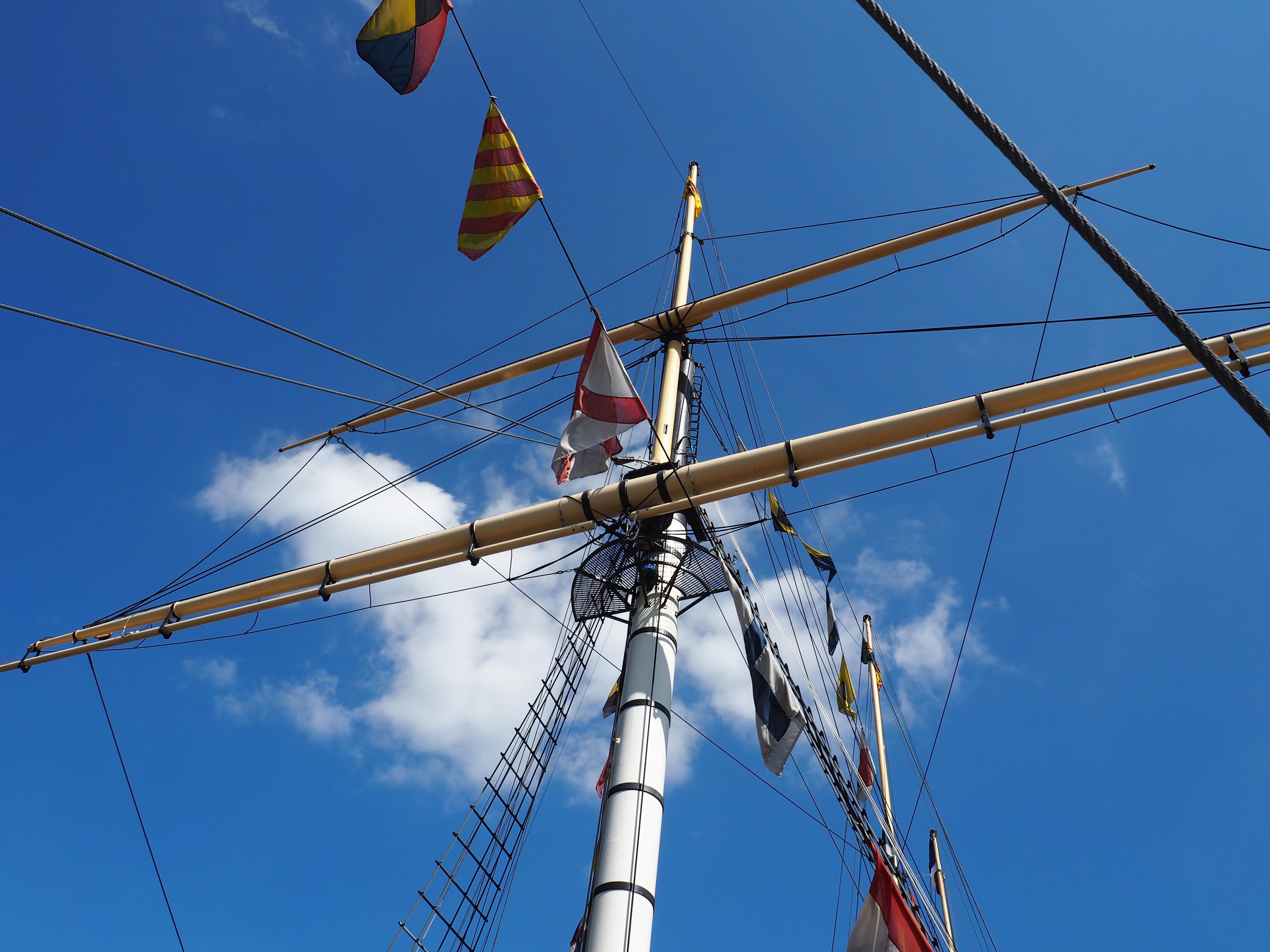 ship rigging ss great britain bristol