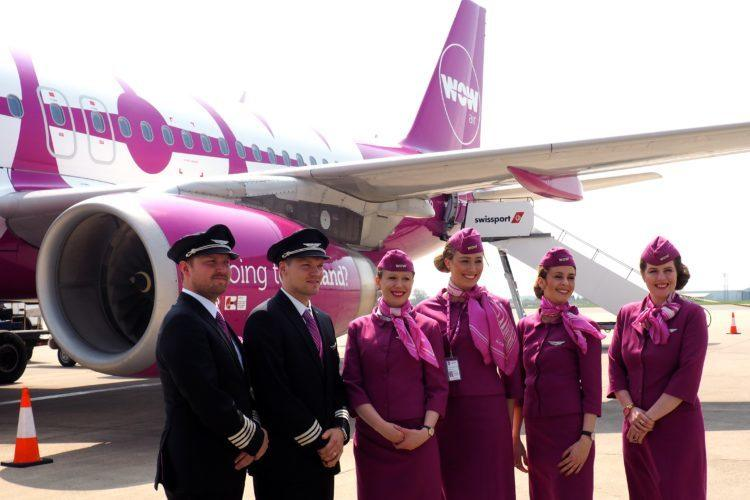 wow air reviews crew at bristol airport