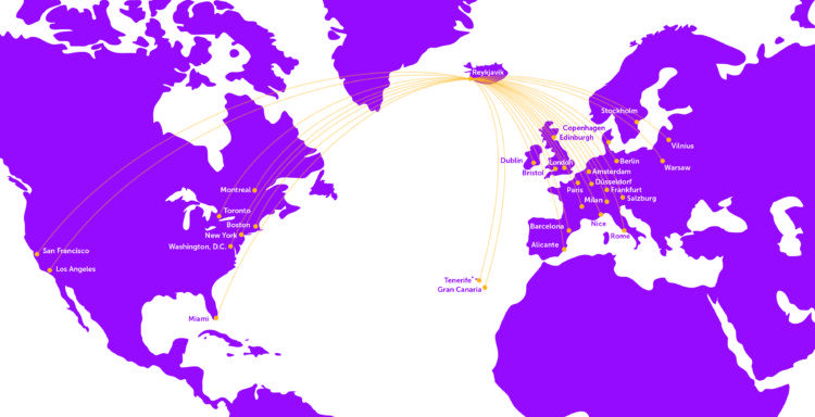 wow air reviews route map