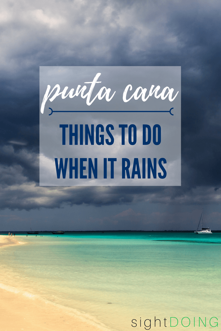 Just because it's raining doesn't mean you have to miss out on things to do in Punta Cana! These Dominican Republic excursions are perfect when rain impacts your vacation. Leave the all inclusive with these tips on what to do.